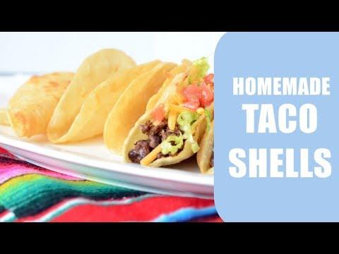 How to make taco shells | Hard Shell Tortilla