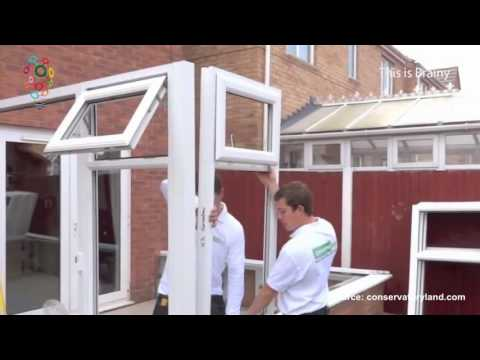 The quickest way to build your own conservatory