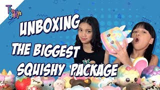 Download The Baldys - UNBOXING THE BIGGEST SQUISHY PACKAGE | Naura dan Neona Video