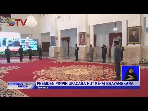 Presiden Joko Widodo Pimpin Upacara HUT Ke-74 Bhayangkara - BIS 01/07
