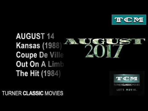 Movies to air on TCM in August 2017