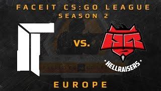 Titan Vs Hellraisers - De_cache Week 3 (faceit Cs:go League Season 2)