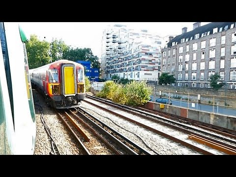 London Victoria to Clapham Junction by train