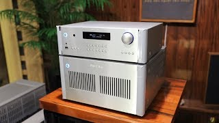 ROTEL RB 1590 AMPLIFIER Review With MartinLogan ESL X | The