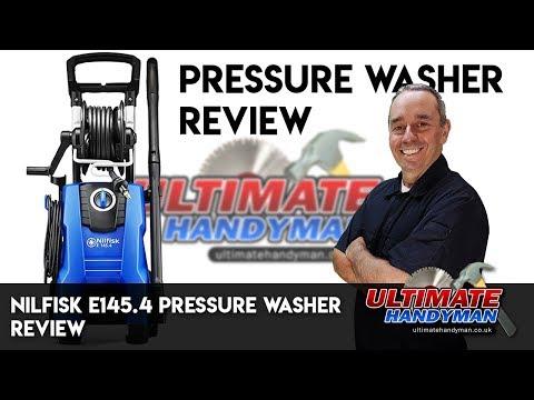 Nilfisk E145.4 pressure washer review