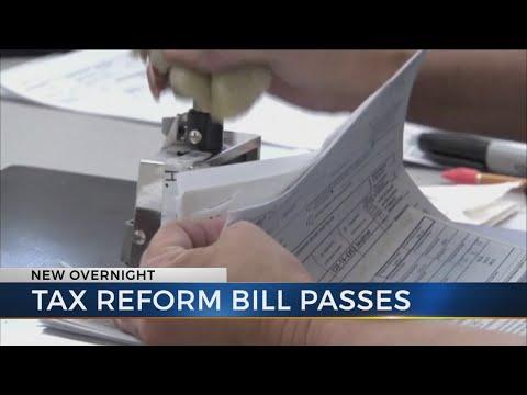 Senate passes tax reform bill