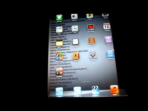 How to move ipad apps to other page, ipod touch, ipad, iphone, ipad mini, help with ipad