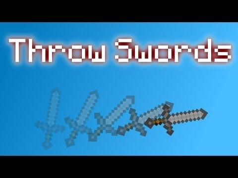 Minecraft - Throw Swords