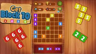 Get block 10 | Best game, Tetris game, Block puzzle game, challenges your brain