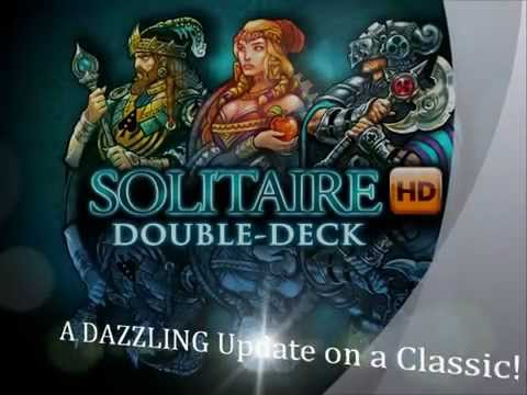 Solitaire Double-Deck HD - iPad, iPhone, Android, Kindle Fire, & NOOK!!!