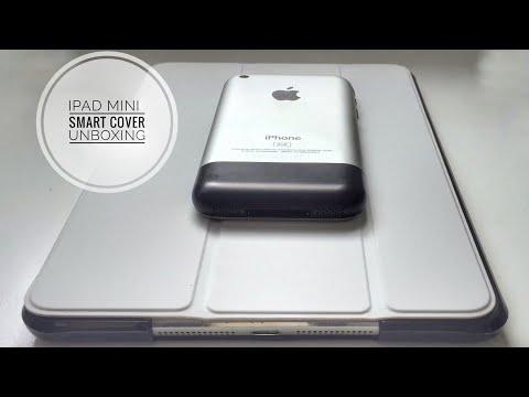 iPad mini smart cover Unboxing