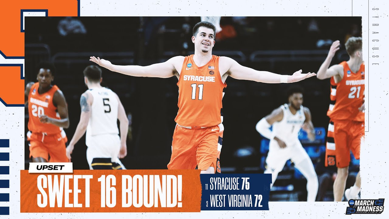 Syracuse vs. West Virginia - Second Round NCAA tournament extended highlights