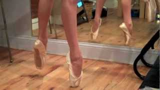 Grishko Maya Pointe Shoe Fitting in NYC with Judy Weiss - Robbie age 13