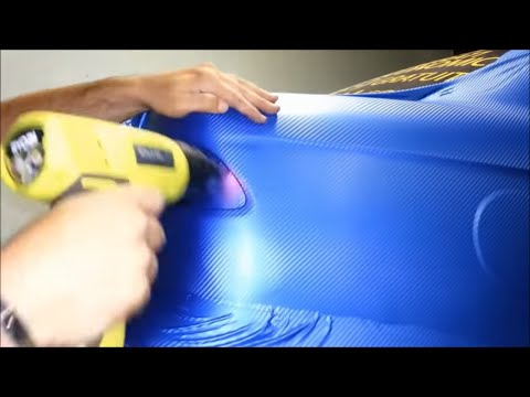 Do it Yourself (DIY) Car Wrapping: Applying vinyl wrap 5/13 (first time)
