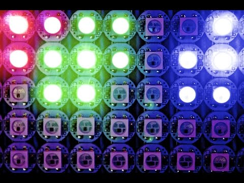 Easy Addressable LEDs with Arduino! WS2812B Tutorial
