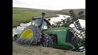 Crazy Tractors Stuck in Mud 2017