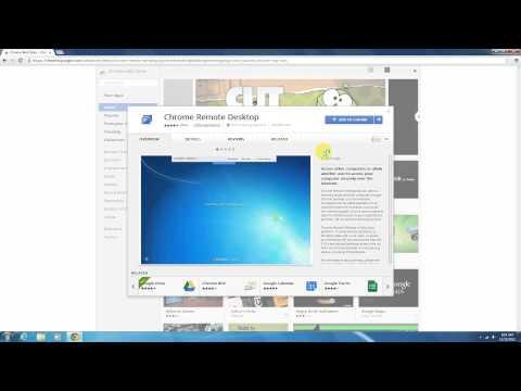 Tutorial : How to install Chrome Remote Desktop app ?