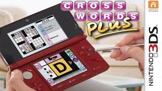 Crosswords Plus Gameplay {Nintendo 3DS} {60 FPS} {1080p}