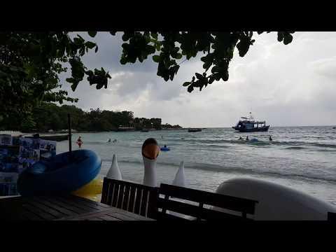 Wongduen beach samet island