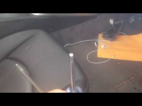 How to remove AC controls in Porsche 997 911 2005-2011