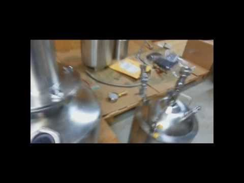 Using the Tamisium Extractors TE3000 Sucker Tank