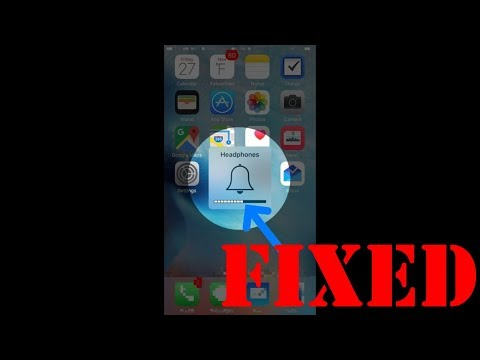 IPhone STUCK IN HEADPHONE MODE (fixed)