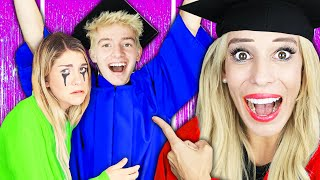 Surprising Connor with Graduation on Youtube! (Emotional Prom with Best Friend Crush) Rebecca Zamolo