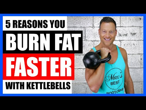 BURN FAT FASTER WITH KETTLEBELLS (5 Ways They Work) 🔥🔥🔥 LIVE!