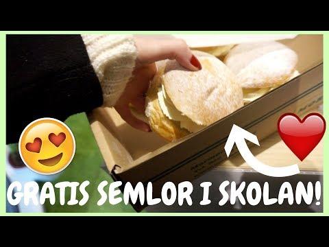STUDENTVLOGG 4 | FÖLJ MED TILL MALMÖ UNIVERSITET! VI FÅR GRATIS SEMLOR! | Produktionsledning - Media