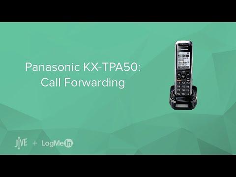 Panasonic KX-TPA50: Call Forwarding