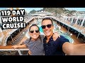 119 Day Cruise AROUND THE WORLD MSC Magnifica Full Ship Tour mp3