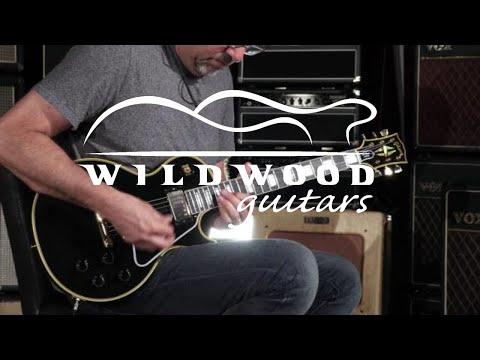 Gibson Custom Shop True Historic 1957 Les Paul Custom Reissue  •  SN: 76080