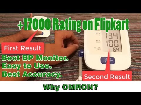 Best Blood Pressure Monitoring  Machine | OMRON 7120 Demo Test and Review.