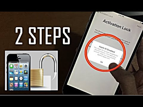HOW TO UNLOCK BY REMOVING ICLOUD ACTIVATION LOCK IN 2 STEPS