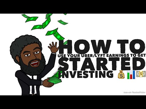 How To Use Your Uber/Lyft Earnings To Get Started Investing 💰📊💵(The Bearded Uber Guy.com)