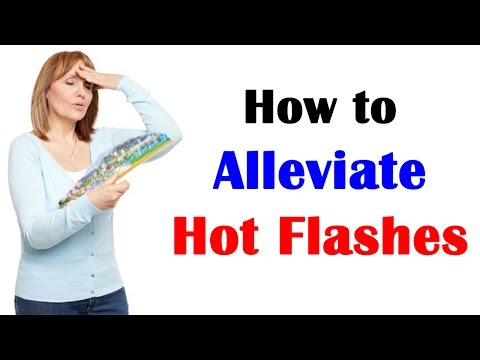 How to Alleviate Hot Flashes