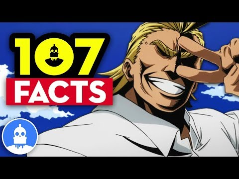 107 My Hero Academia Facts YOU Should Know! Vol. 2 - Anime Facts (107 Anime Facts S2 E8)