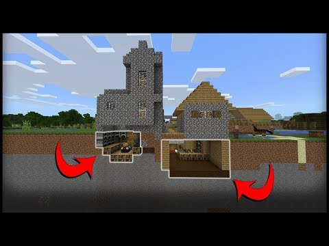 3 Undetectable Village Bases in Minecraft