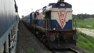 Kolkata to Guwahati Full Journey Compilation - Kanchanjungha Express
