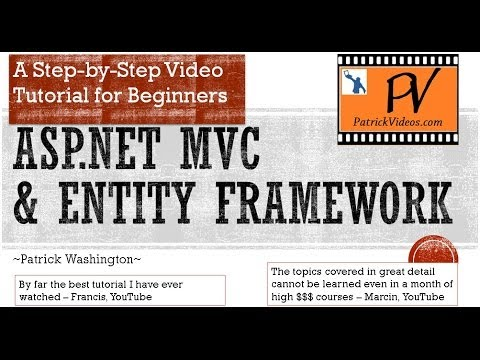 ASP.NET MVC 5 Tutorial - Original Step by Step - PatrickVideos
