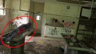 Exploring Haunted Abandoned MORGUE! (DEAD BODY!?)