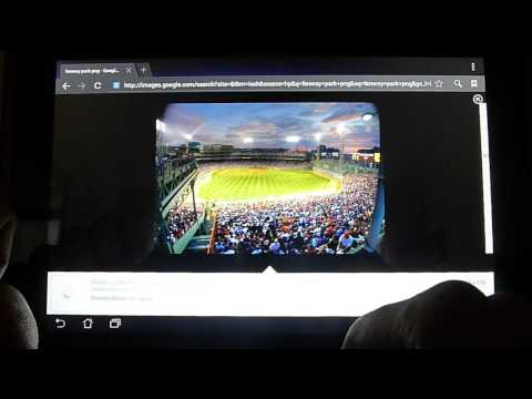 How To: Saving Images on Tablet using Tablet Internet Browser - YouTalk AAC for Android