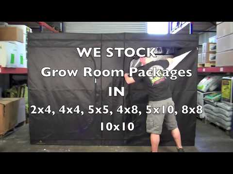 How To Setup & Vent A Grow Room Tent Package