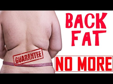 2 Ways to Get Rid of Back Fat Rolls Naturally at Home | How to Get Rid of Back Fat Fast