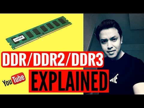 DDR/ DDR2/DDR3 RAM explained