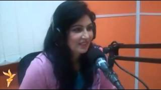 Naghma Jan Live Talking about Love on Mashal Radio, Afghanistan
