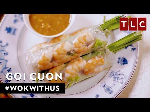 How to Make Goi Cuon | #WokWithUs S1E17