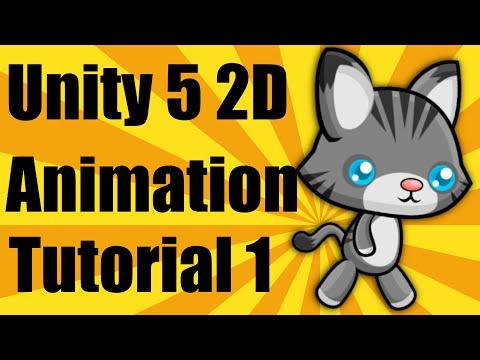 Unity 5 2d Animation Tutorial - Part 1