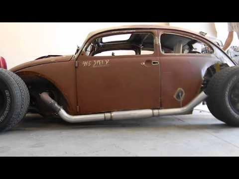V8 Beetle Rod Start Up