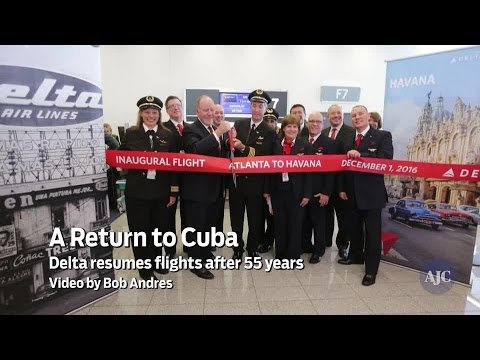 Video: Delta resumes flights to Cuba after 55 years